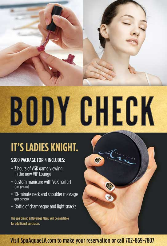 Ladies Night (Knight) Out - Monthly Spa Special